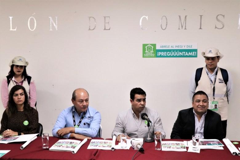 PRESENTAN EN EL CONGRESO DEL ESTADO CENSO DE POBLACIÓN Y VIVIENDA INEGI 2020 02.peg