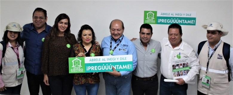 PRESENTAN EN EL CONGRESO DEL ESTADO CENSO DE POBLACIÓN Y VIVIENDA INEGI 2020 08