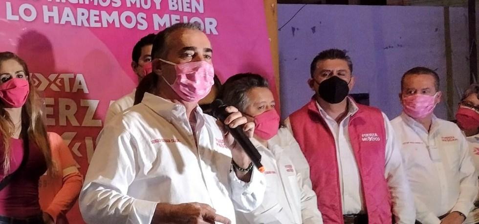Arranque de campaña de Sergio Estrada Cajigal