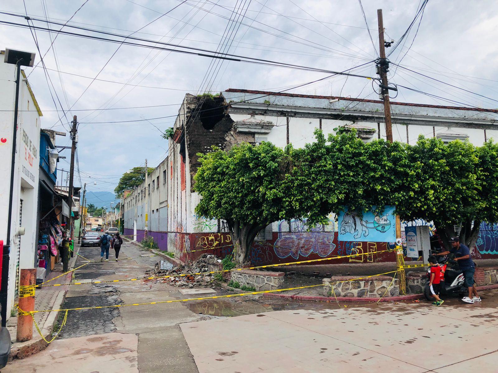 Escuela Secundaria Moisés Sáenz en el centro de Yautepec,