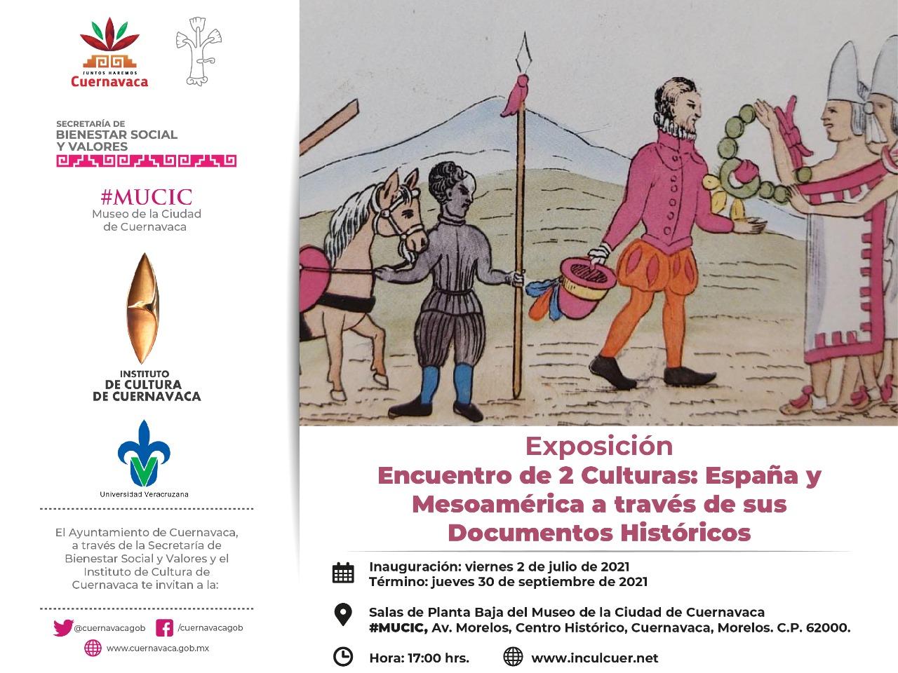 acercamiento histórico de la Cultura Mesoamericana y Española.