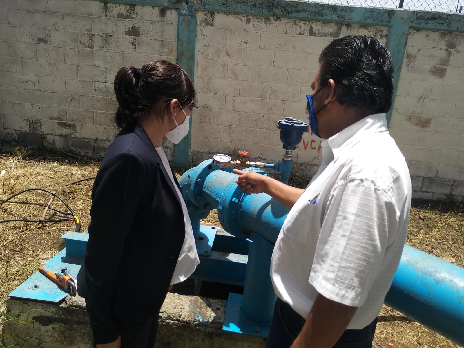 Supervisa SAPAC pozo Chipitlán 4