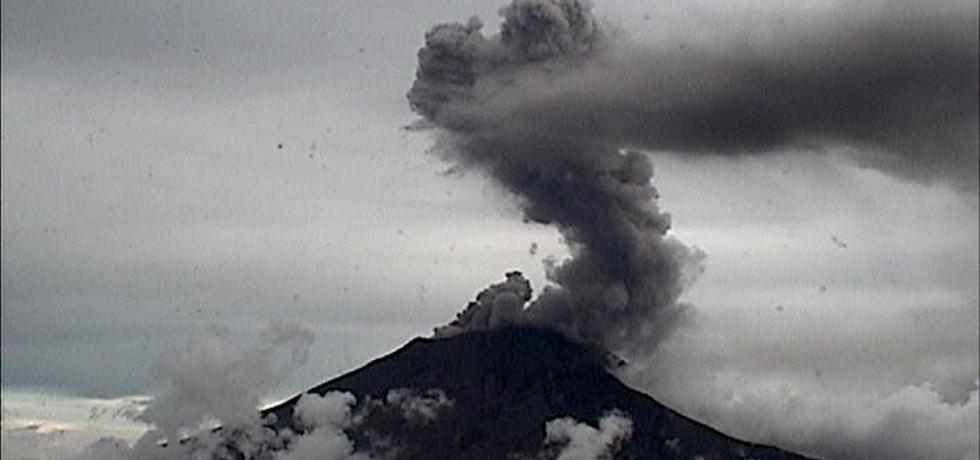 Volcán Popocatépetl incrementó su actividad en los últimos días
