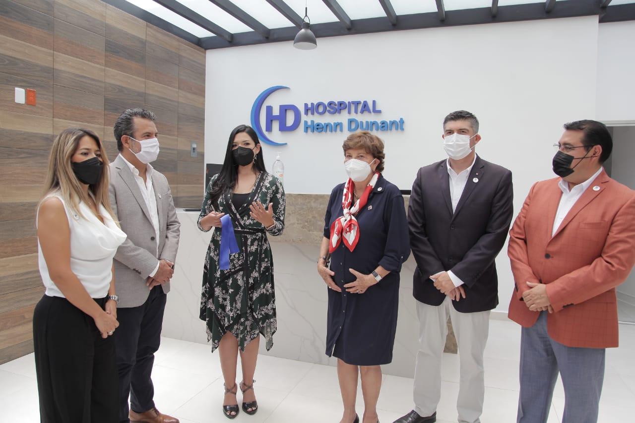 Celebran 50 años del hospital Henri Dunant