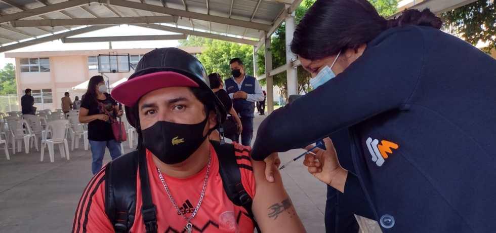 Aplican en Jojutla 3 mil 402 vacunas contra Covid-19 a rezagados