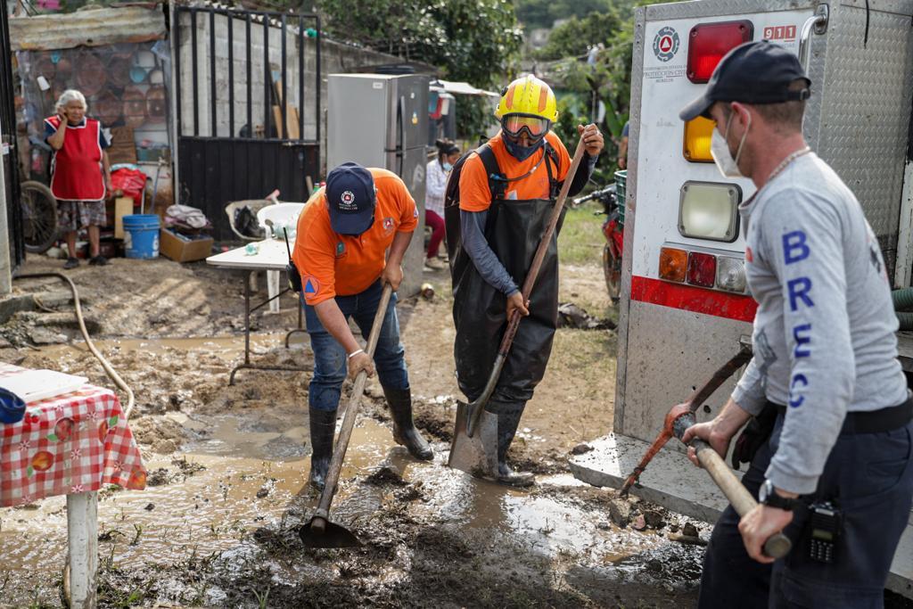 Apoya Gobierno de Morelos a familias afectadas por las lluvias