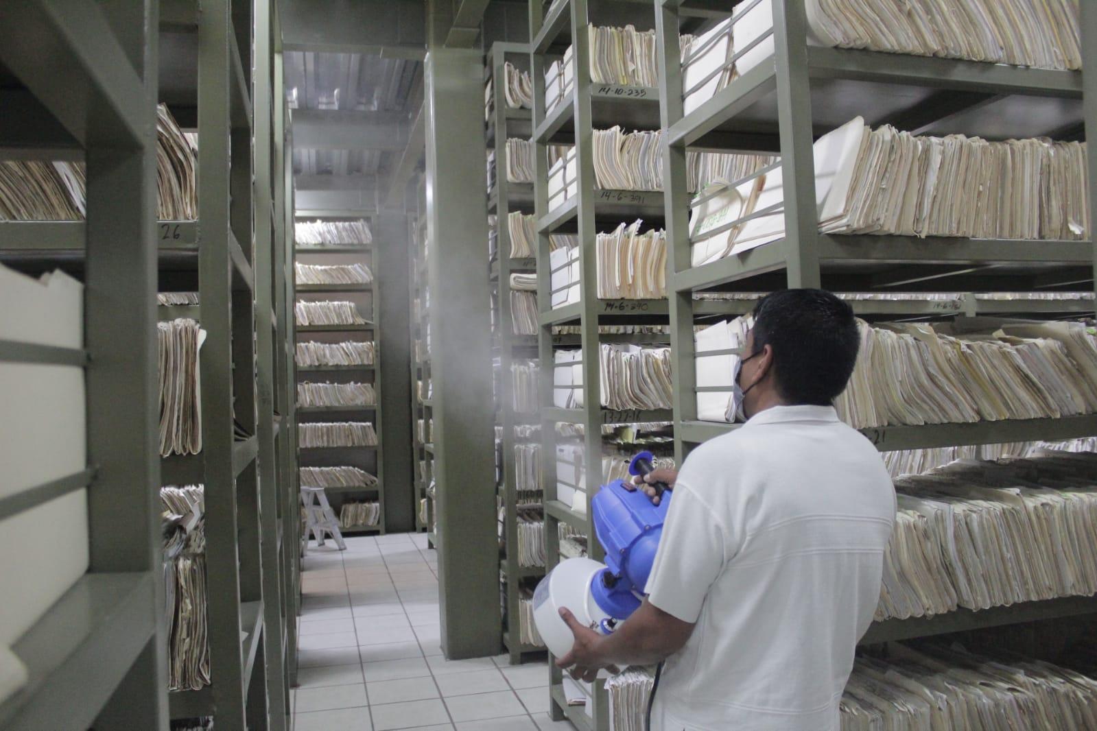 Continúa sanitización de oficinas del Ayuntamiento de Cuernavaca
