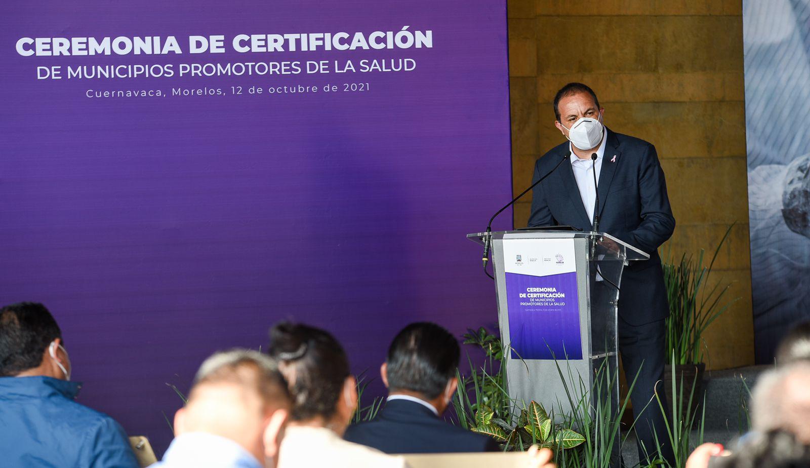 Consolida Gobierno de Cuauhtémoc Blanco atención y promoción de la salud en el Estado