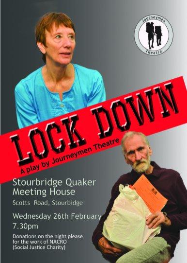 Lock Down flyer for stourbridge mini