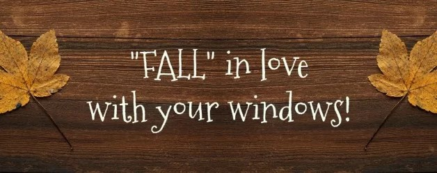 FALL in love with your windows in Hyde Park