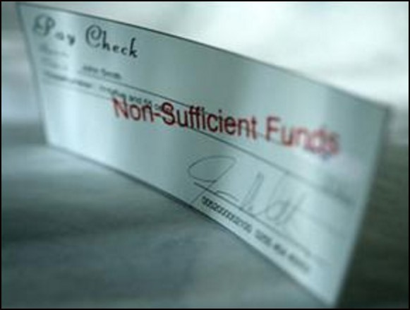 Non- Sufficient Funds