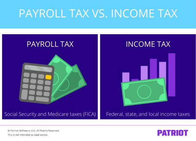 payroll tax vs income tax