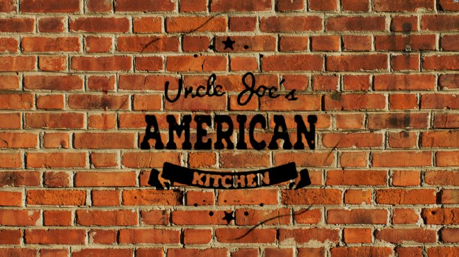 Uncle Joes American Kitchen Home Slider Background