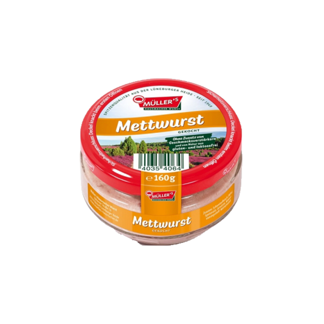productimage mullers mettwurst