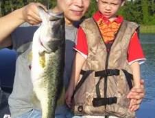 July Bass Fishing