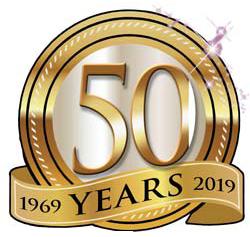50 years 1969-2019