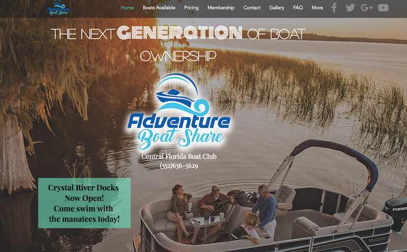 Adventure Boat Share Club Leesburg | The Villages | Boat Rental Club