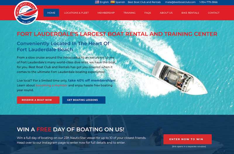 Fort Lauderdale Boat Rentals from Best Boat Club and Rentals