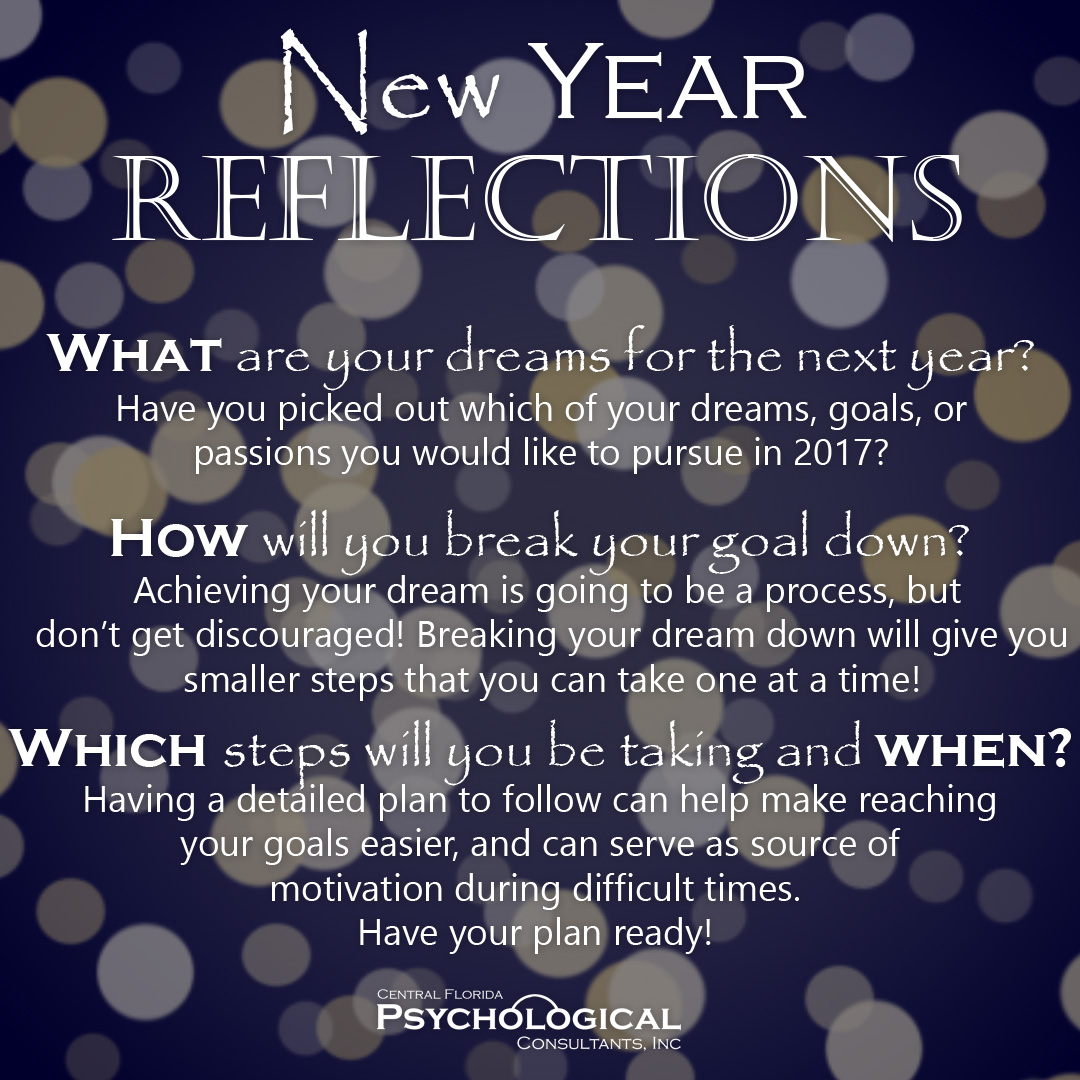 New Year Reflections Centralfloridapsychologicalconsultants