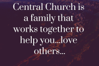 Partial vision statement for Central Church