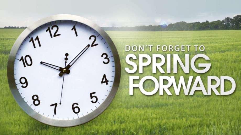 Set clocks ahead!