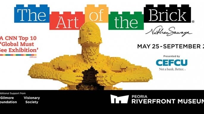 The Art of the Brick - The World's Largest LEGO Art Exhibition