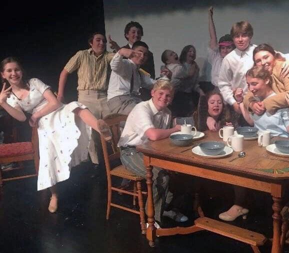 Our Town cast