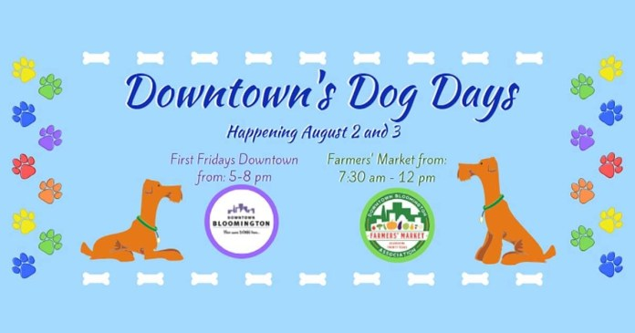 Your pooch needs to get out more; Downtown's Dog Days is the ticket