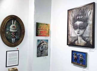 'Haunted' art finds a home in downtown Champaign