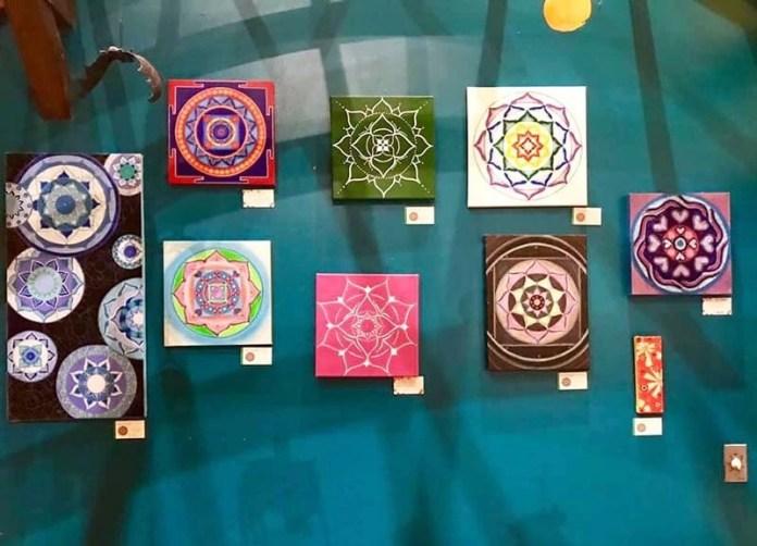 Mandala art by Evelyne Tardy at Aroma Care