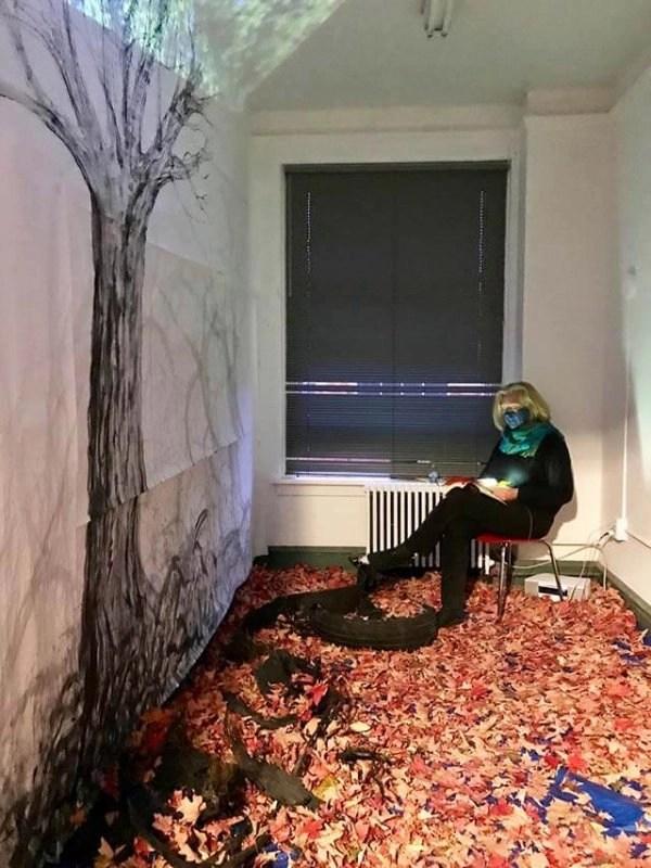 Performance art by Christina Nordholm