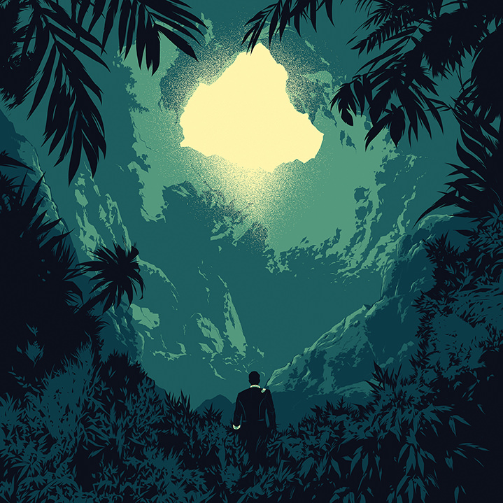 Forest Silhouette Graphic