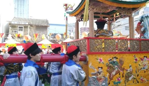 ランタンフェスティバル長崎の皇帝パレードに行ってきたよ!
