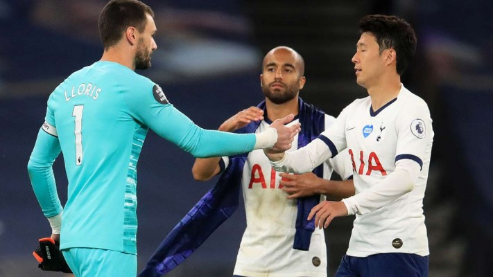 Son clashes with Lloris - Sport news blog in Nigeria