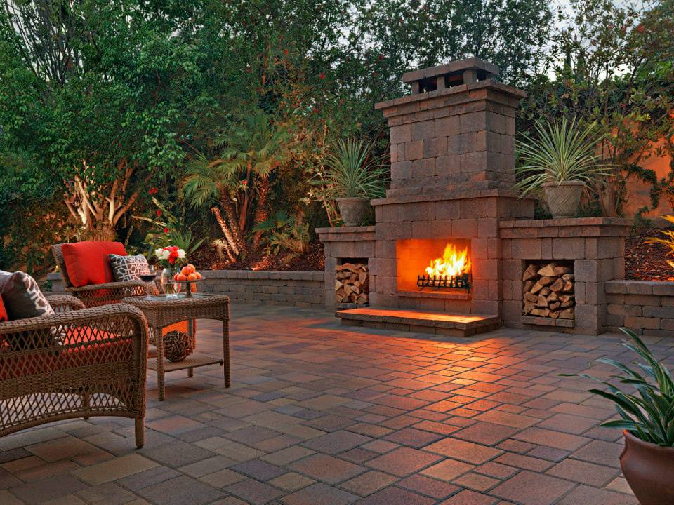 Decks and Patios - Central Jersey Fireplace on Fireplace In Yard  id=84194