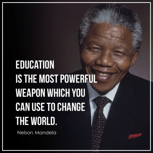 Education Quotes By Nelson Mandela