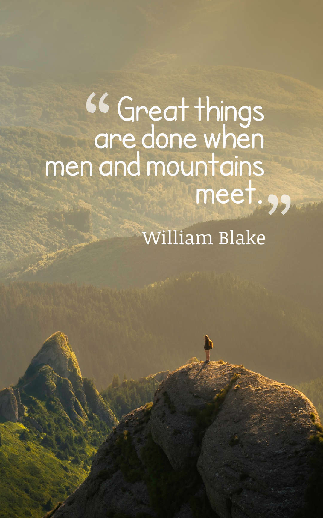 38 Best Mountain Quotes And Sayings With Images on Outstanding Things  id=64329