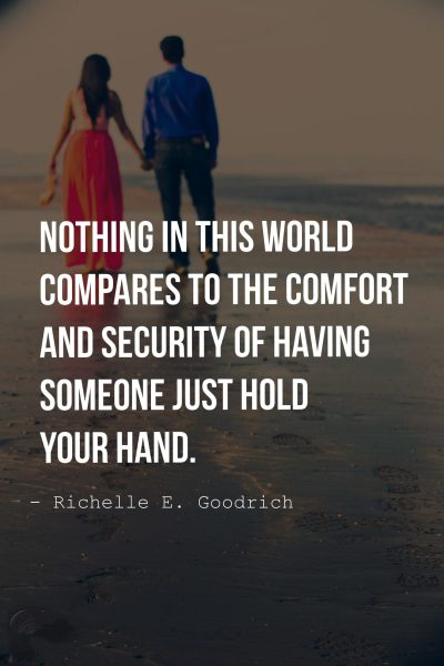 Holding Hands Quotes