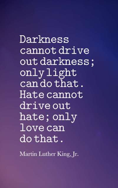 Famous Quotes About Darkness and Light