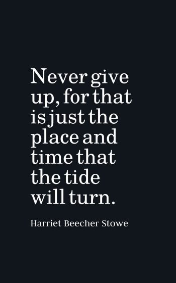 Inspirational Never Give Up Quotes