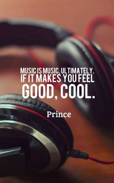 Music is music, ultimately. If it makes you feel good, cool.
