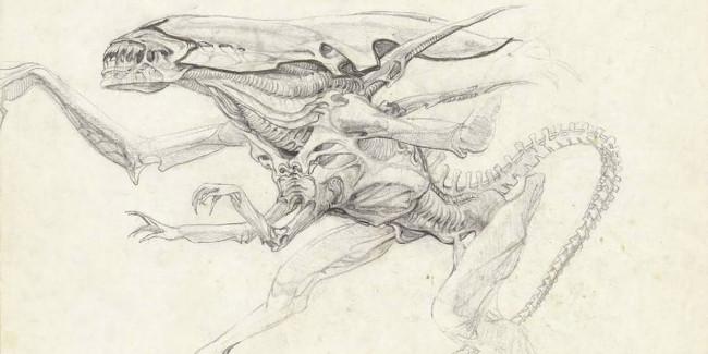James Cameron divulga sketches exclusivos de Aliens e Exterminador do Futuro