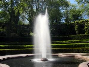 Fountain in Conservatory Garden