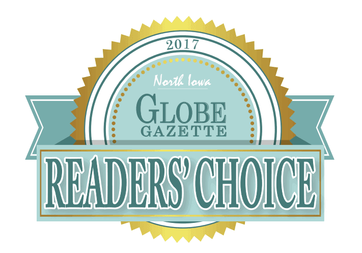 2017 Globe Gazette Reader's Choice Award