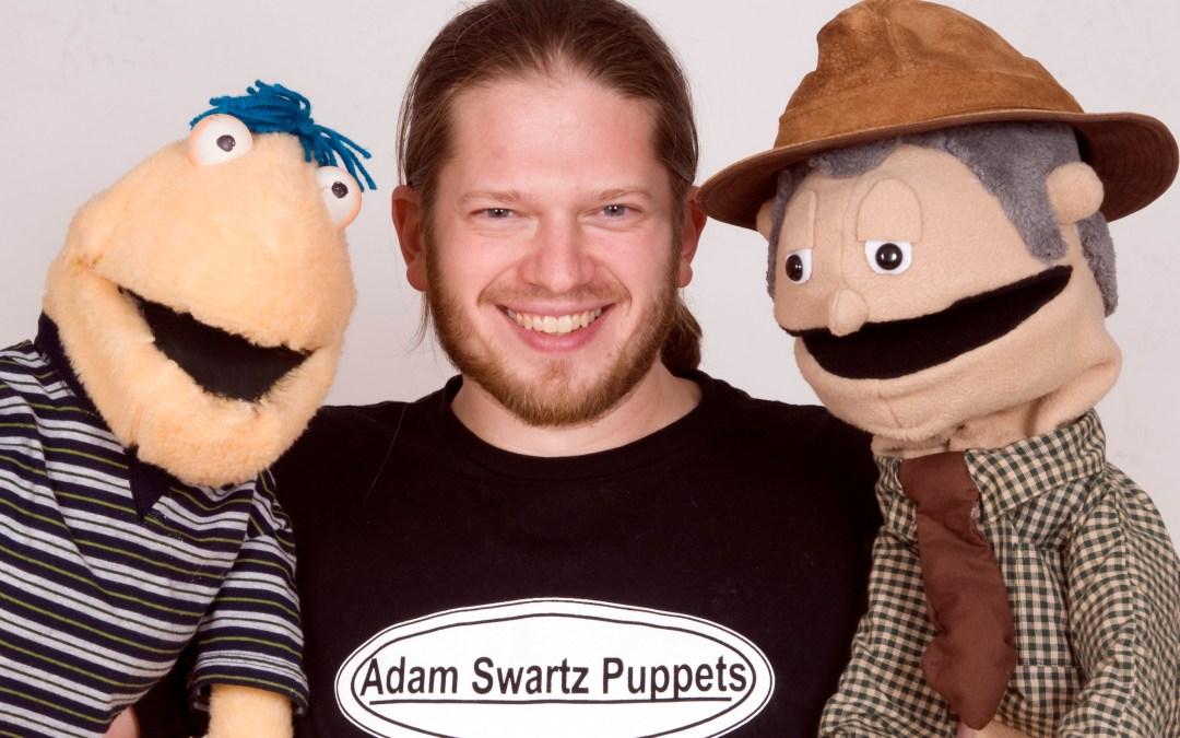 Adam Swartz Puppets Zoom Performance