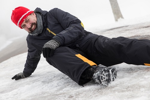 Take precautions in winter weather to prevent work injuries