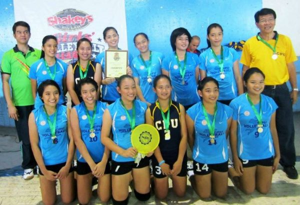 shakey's girls' volleyball league | Central Philippine ...
