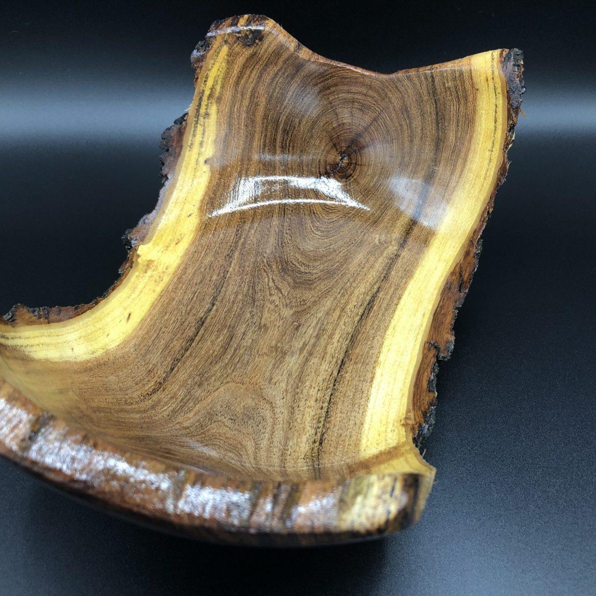 mesquite live edge bowl