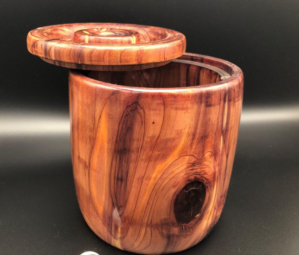 cedar custom wood box