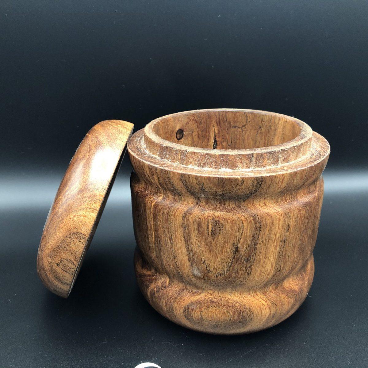 medium mesquite wood box